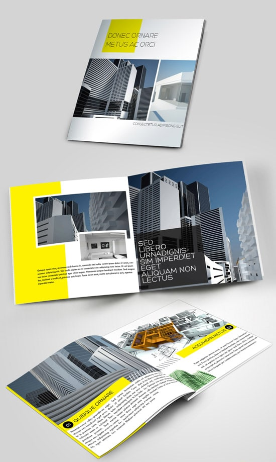 construction brochure template - brochure templates 40 very affordable high quality