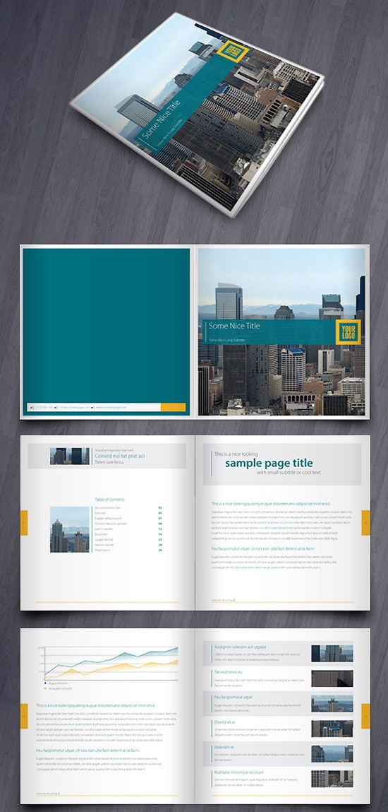 Clean Catalogue/Brochure