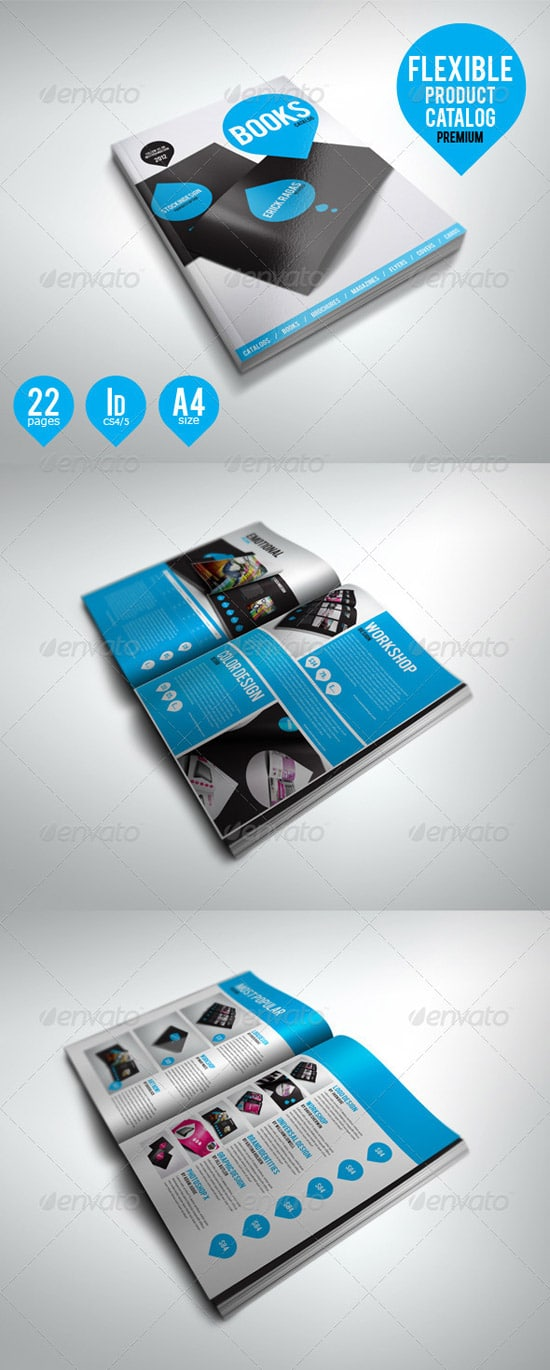 Print Templates - Flexible Product Catalog Premium
