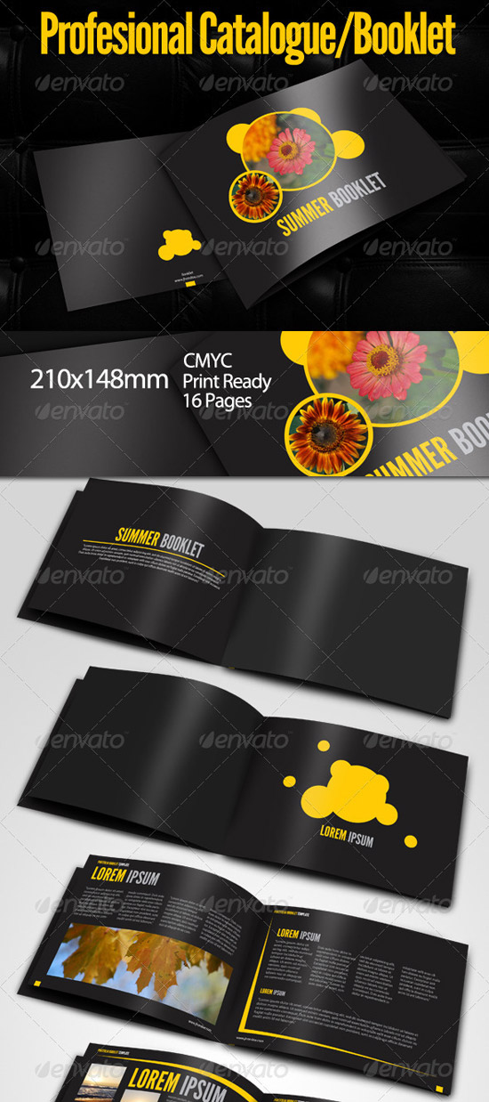 Print Templates - Summer Booklet Template