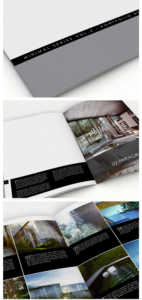 Minimal Series - Portfolio Book Vol.2