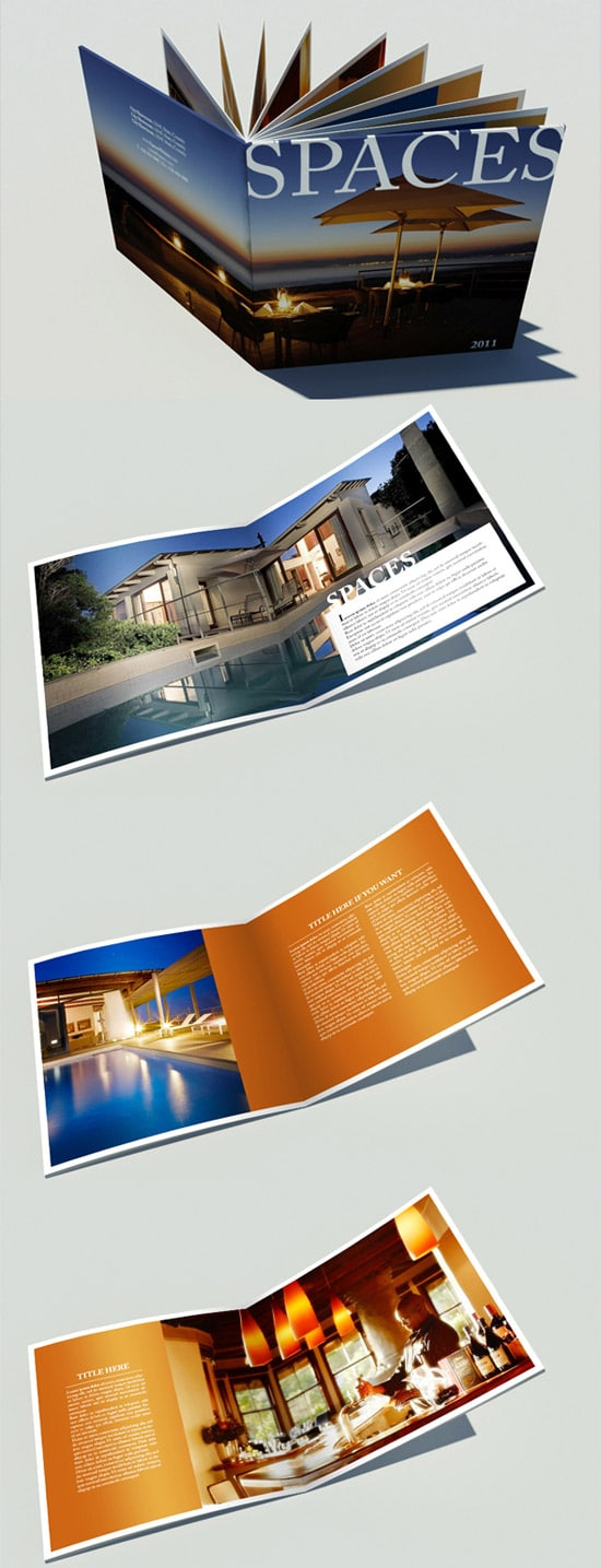 catalogue template free