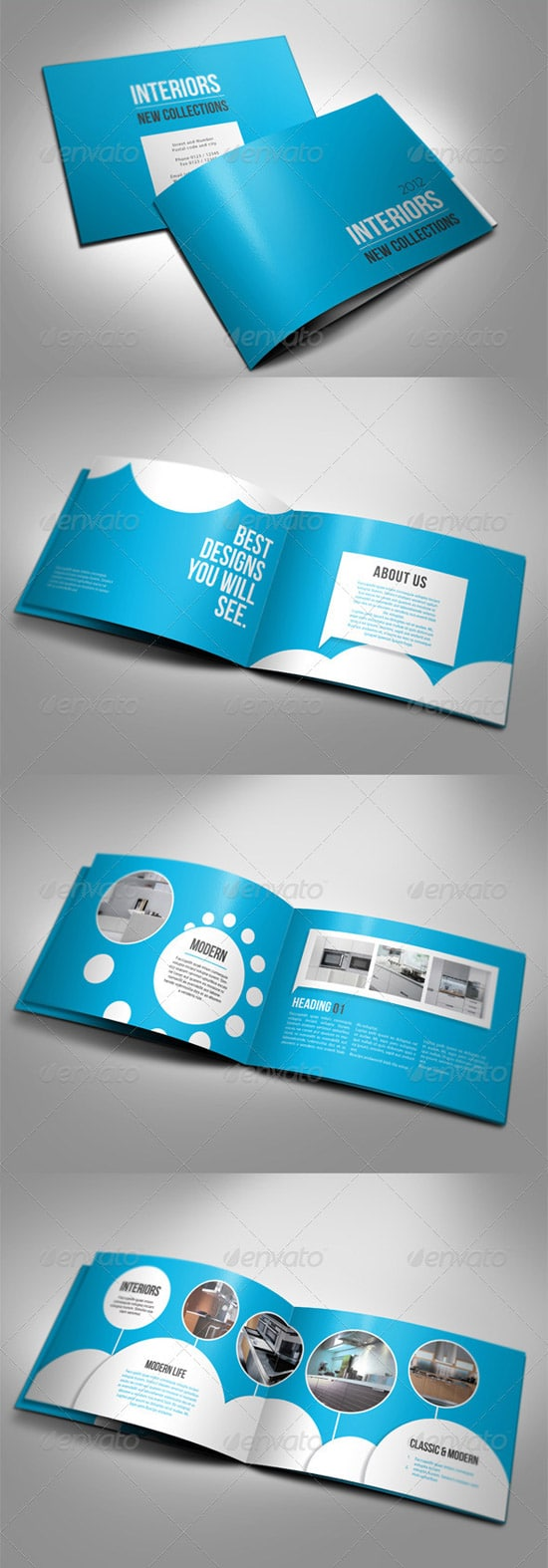 Print Templates - A5 Booklet