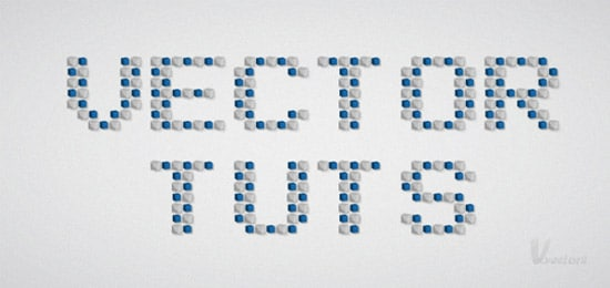 Quick Tip: How to Create a Mosaic Text Effect