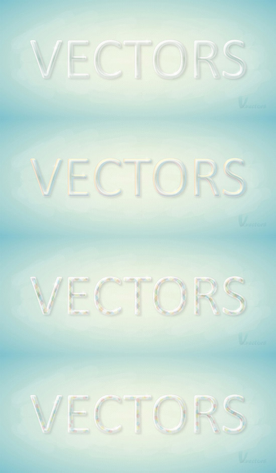 Create a Colorful, Glass Text Effect in Illustrator