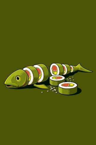 Real Sushi Vector