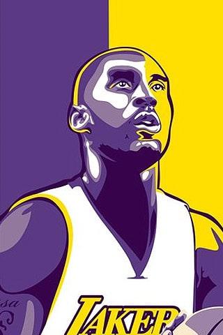 Los Angeles Lakers – Kobe Bryant Vector