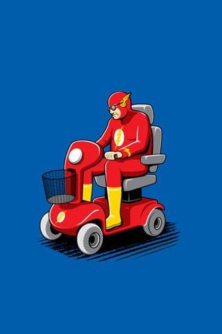 Flash Past His Prime