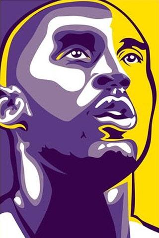 Los Angeles Lakers – Kobe Bryan Vector