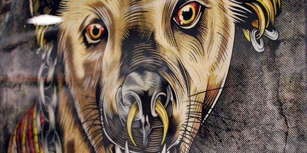 Hyena Chief: Illustration