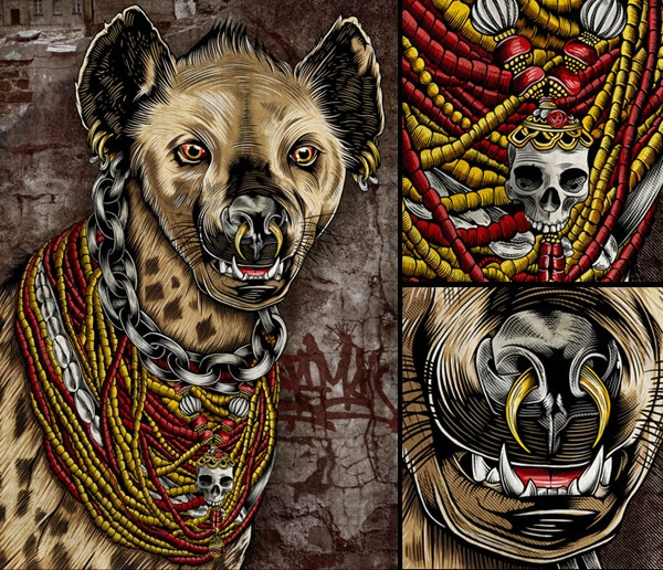 Hyena Chief: Illustration