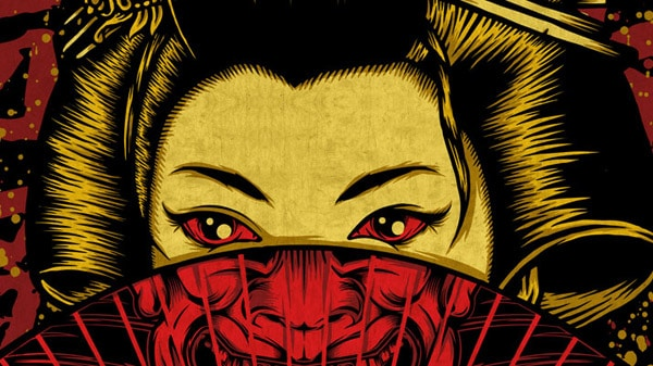New Print: Geisha Samurai