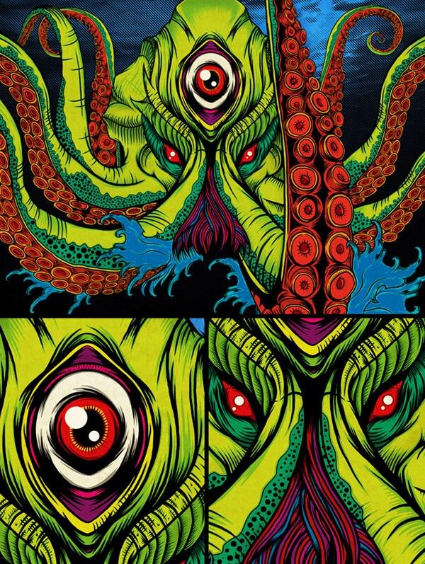"""The Kracken"" Illustration"
