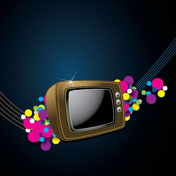 How to Create a Colorful Retro Style TV