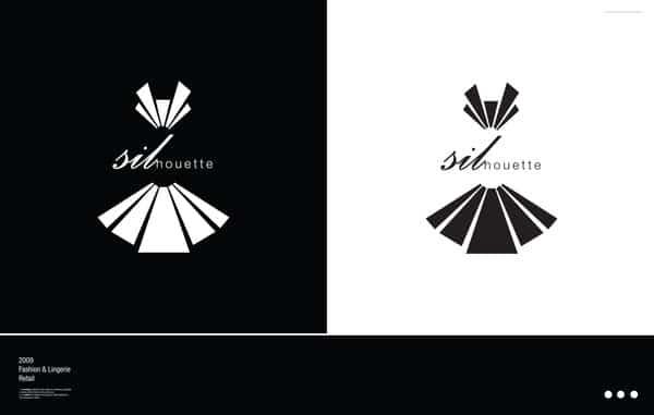 29 fantastically simple fashion logos
