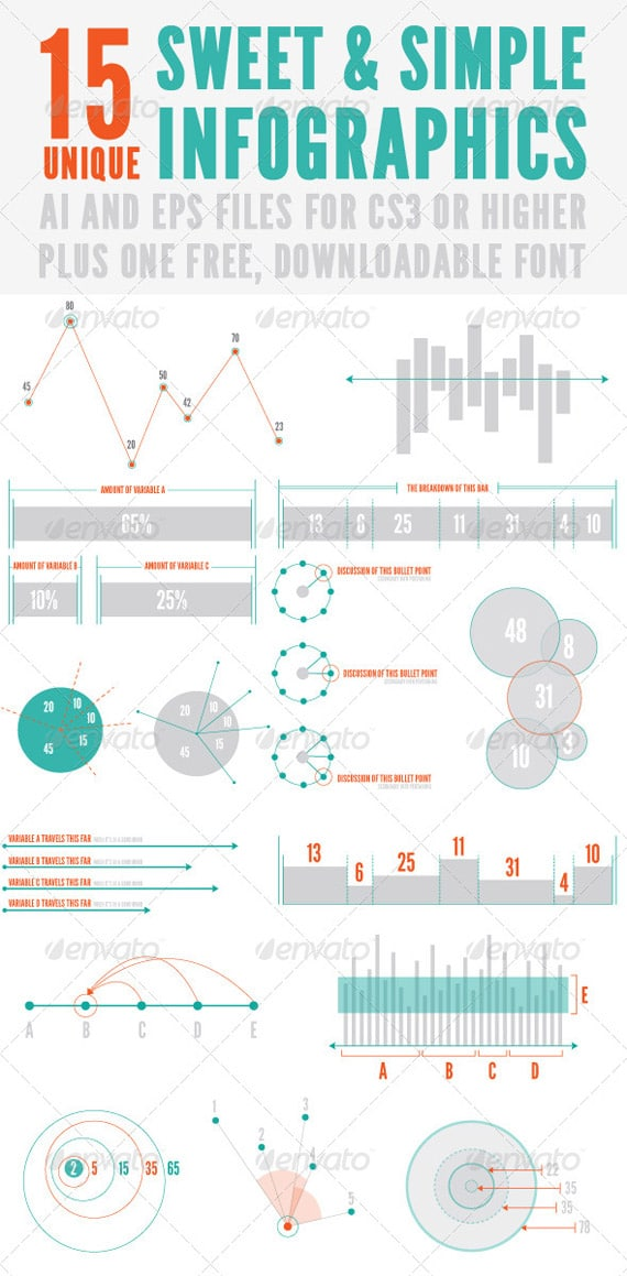 Infographics: Collection Of High Quality Template Design ...