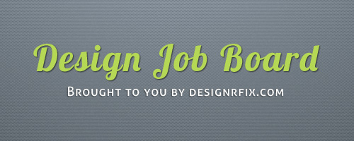 Design Jobs For Creative Professionals On Designrfix