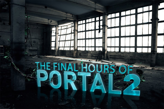 PORTAL 2 X GAMESLICE - EDITORIAL ILLUSTRATION