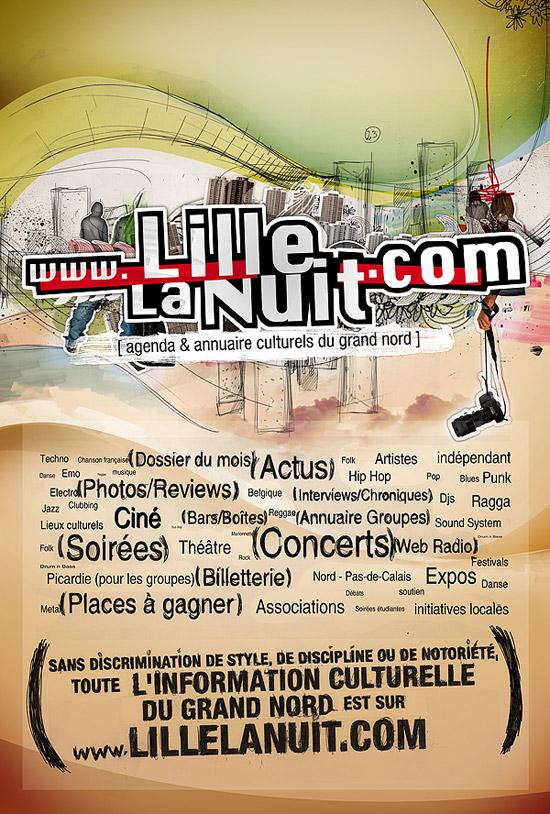 Lillelanuit.com 2007 - Poster