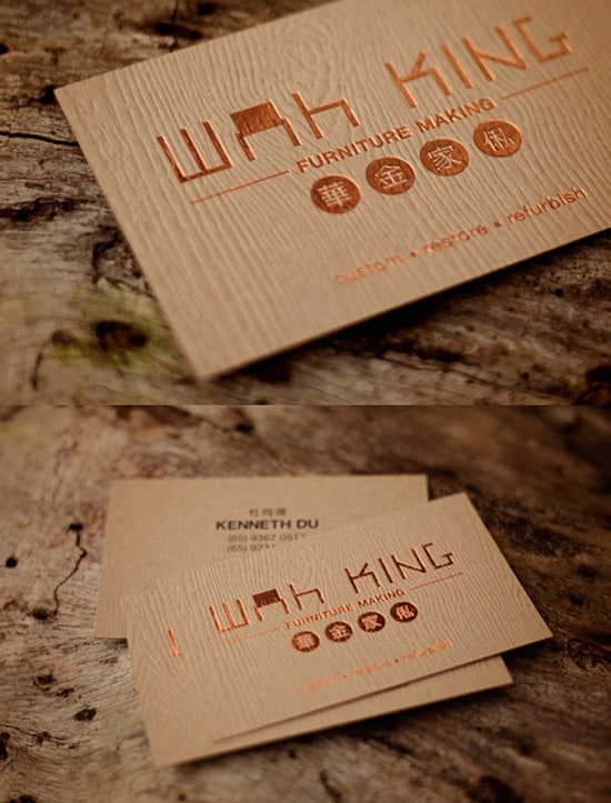 50 awesome must see business card designs designrfix furniture business card colourmoves