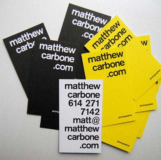 Yellow Identity Cards