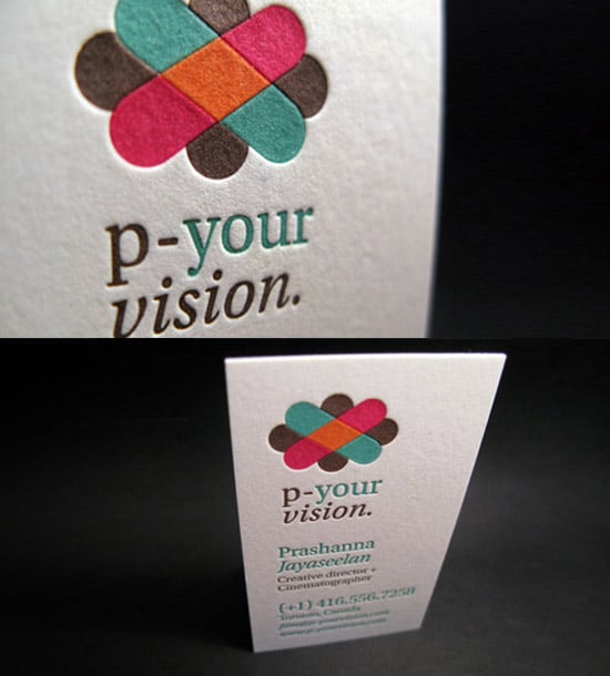 Four Color Letterpress