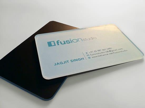 Acrylic Business Card