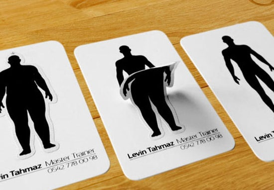 Awesome Must See Business Card Designs Designrfixcom - Personal trainer business cards templates
