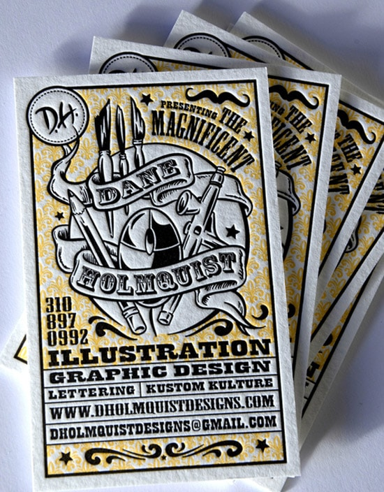Artwork Letterpress Design