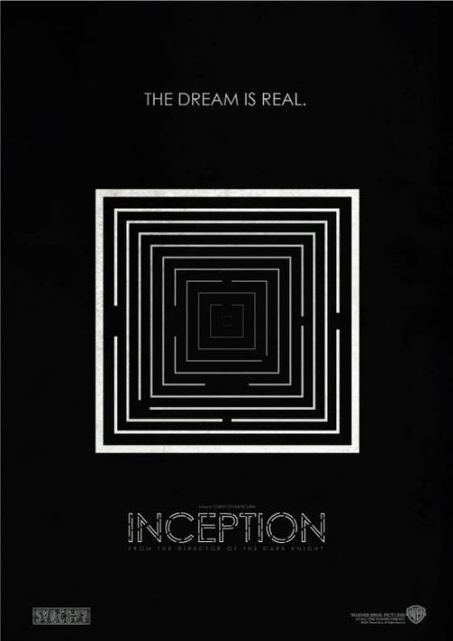 INCEPTION MOVIE POSTERS