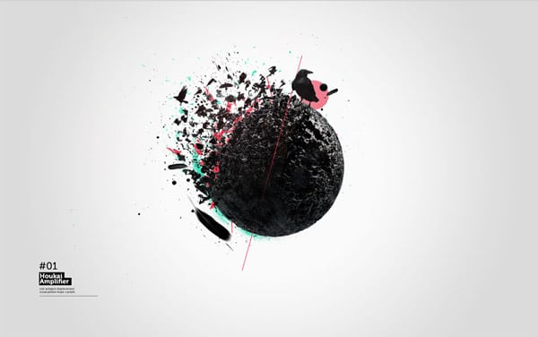 Design Conceptual Disintegration Effect in Cinema 4D and Photoshop