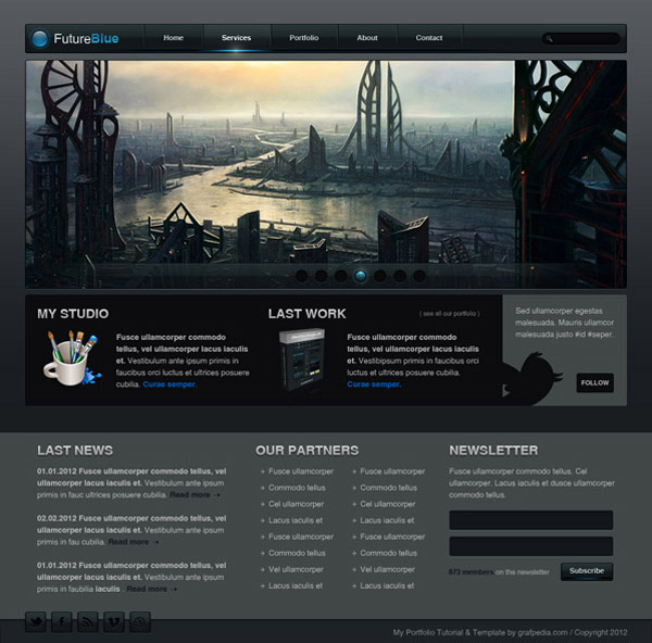 How to design the FT Black & Blue Web layout
