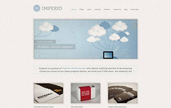 1418 Imperio | WordPress Theme
