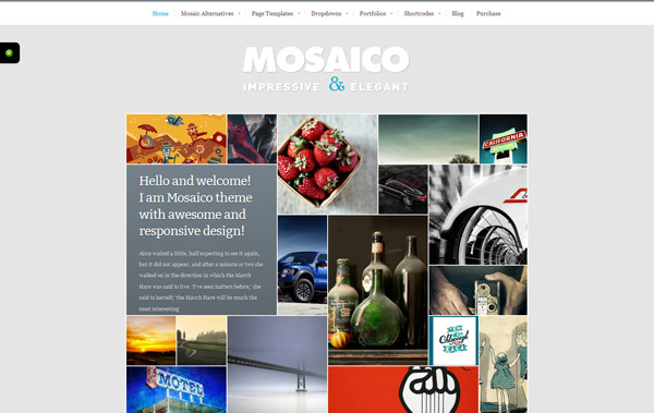 Mosaico - Unique Magazine Theme