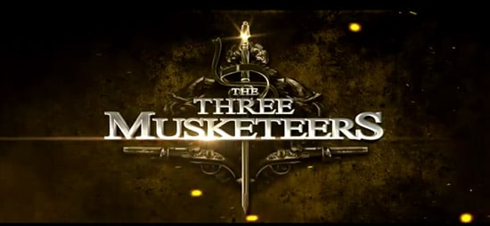 Hollywood Movie Title Series – The Three Musketeers
