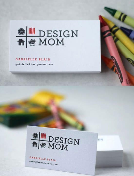 50 hot new business card designs designrfix simple card design mom colourmoves