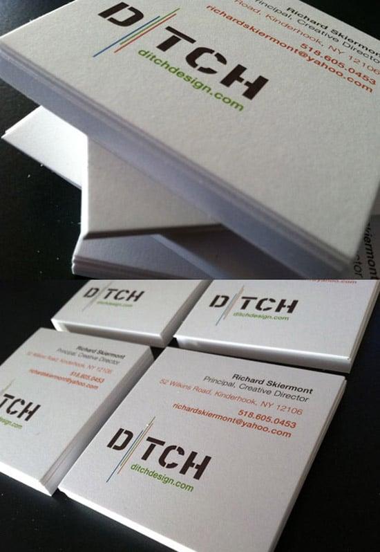 Ditch Design Business Card