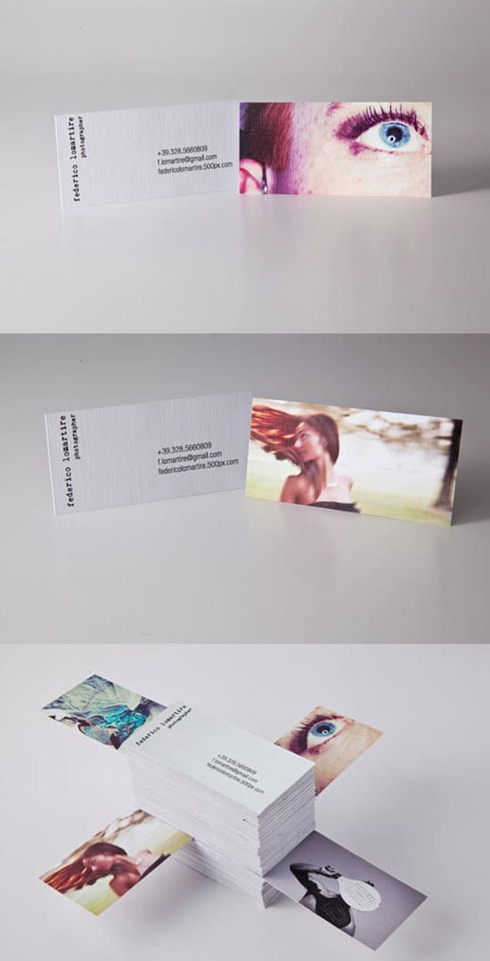 Personal Photographer Cards