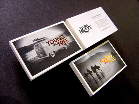 50 hot new business card designs designrfix piping hot business cards reheart Images