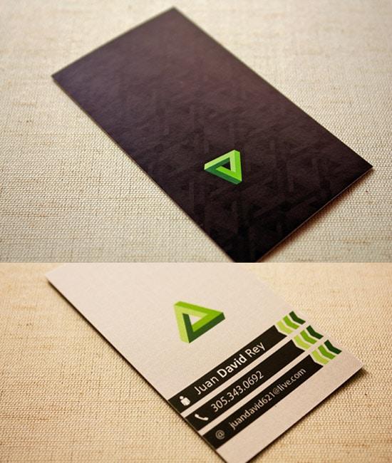 Juan David Rey Business Card