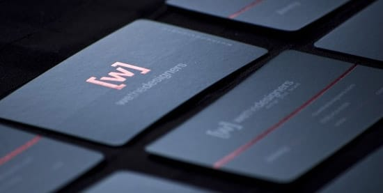 We the designers business cards
