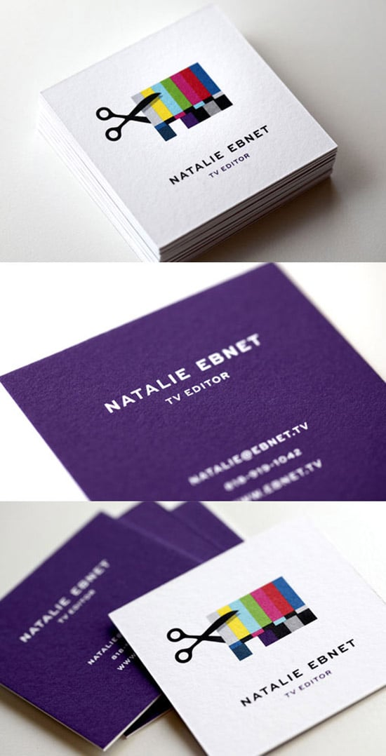 50 Hot New Business Card Designs - designrfix.com