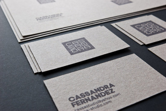 Cassa Studio business cards