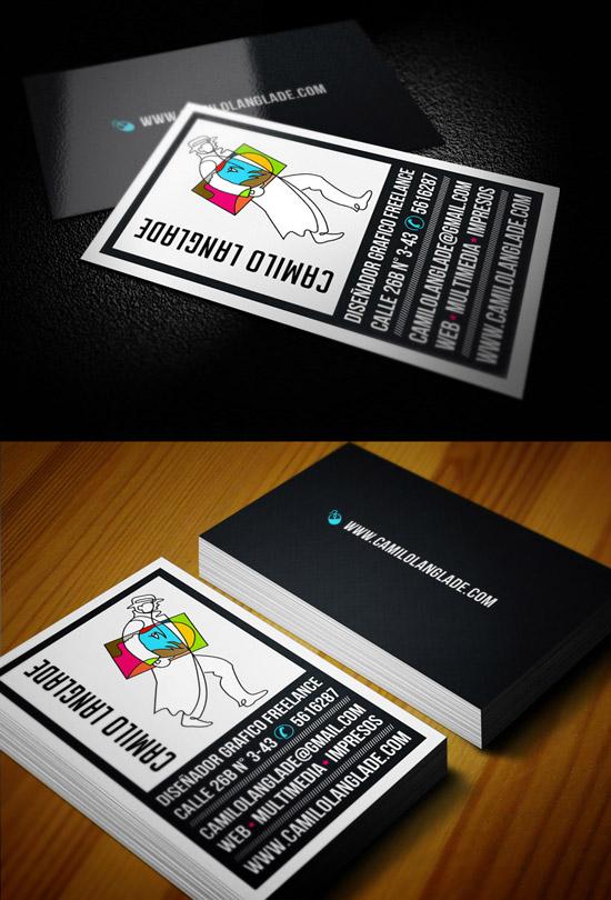 Camilo Langlade Business Cards