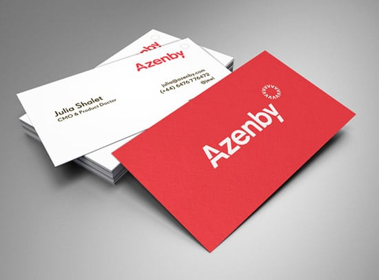 Azenby - Business Cards