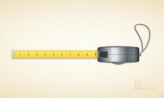 Create a Vector Tape Measure in Illustrator CS5