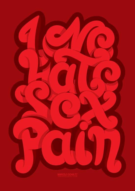 LOVE . HATE . SEX . PAIN