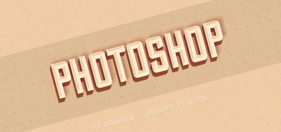 60+ Kick-Ass Photoshop Text Effect Tutorials - designrfix com
