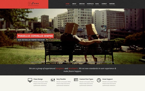 CANO - Responsive HTML Template