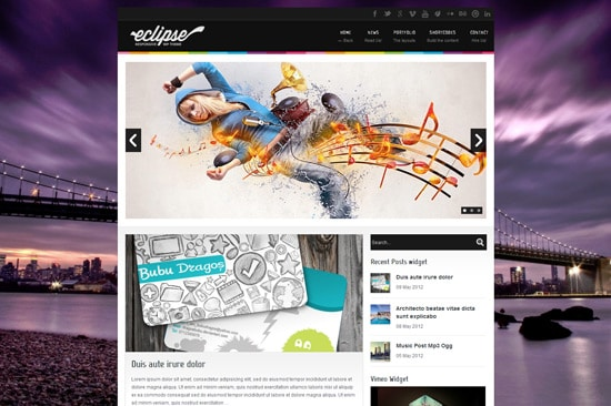 Eclipse - Responsive WordPress Theme